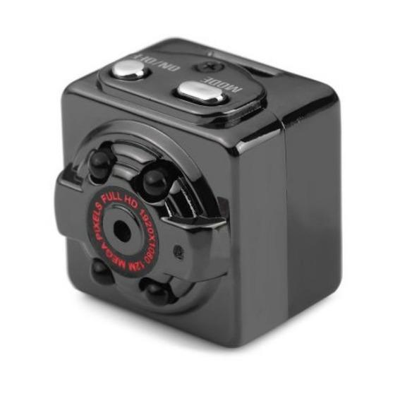 Mini Câmera Espiã Visão Noturna Sq08 Full Hd 1080p Quelima