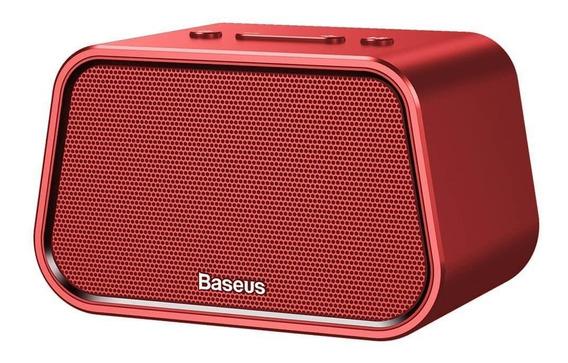 Caixa De Som Bluetooth Baseus Encok E02 Vermelho