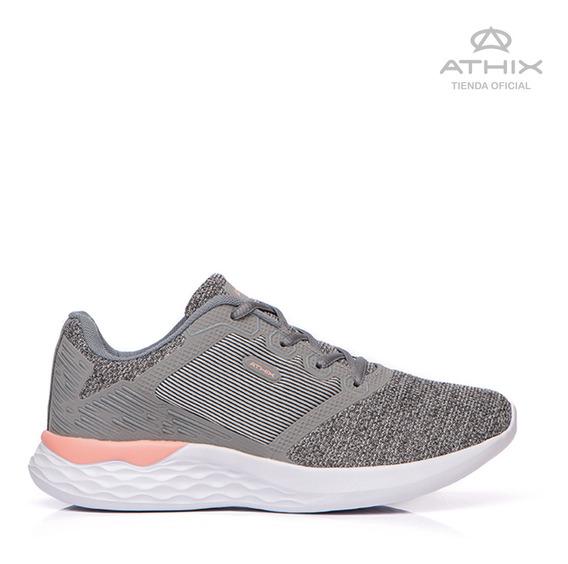 Zapatillas Athix Bose Flexy Cinza Coral