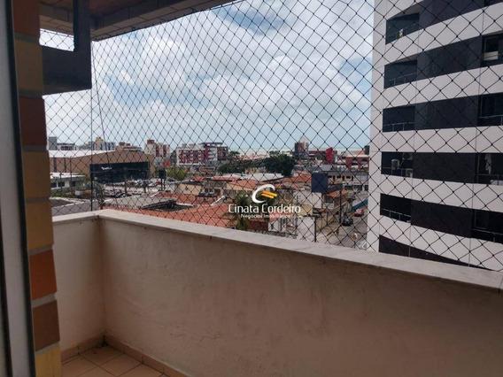 Apartamento Com 4 Dormitórios À Venda, 164 M² Por R$ 520.000 - Tambaú - João Pessoa/pb - Ap2540