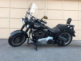 Harley Davidson Fatboy Lo 2013 Único Dueño Nacional,