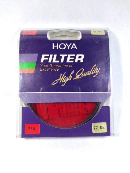 Filtro Hoya 25a 72mm Tokina Fotografia Conversão De Cor