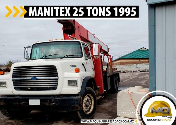 Ford 1995 Manitex 25 Tons Grua Titan