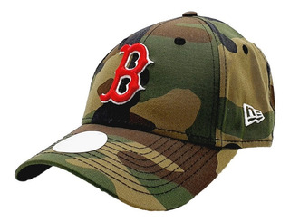 Gorra Boston Red Soxs Mlb New Era Verde Camuflaje