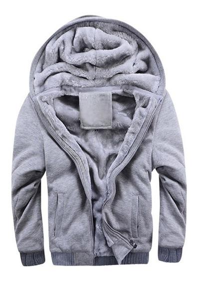 Blusa Moletom Forrado Jaqueta Frio Intenso Inverno Promoção