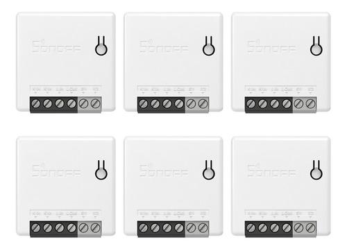 Imagen 1 de 9 de 6 Unidades Sonoff Minir2 Itead Bricolaje 2 Vías Wifi Smart S