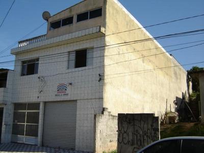Salão Comercial + Residência Para Venda, Cidade Líder. - So7244