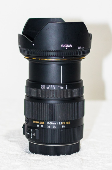 Lente Sigma 17-50mm F/2.8 Ex Dc Para Canon