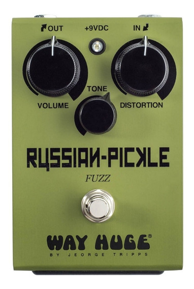 Pedal De Efeito Dunlop Russian Pickle Fuzz Way Huge - Whe408