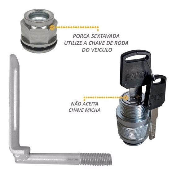 Trava Protetor Estepe Toro 2016 Antifurto Aço Inox + Frete