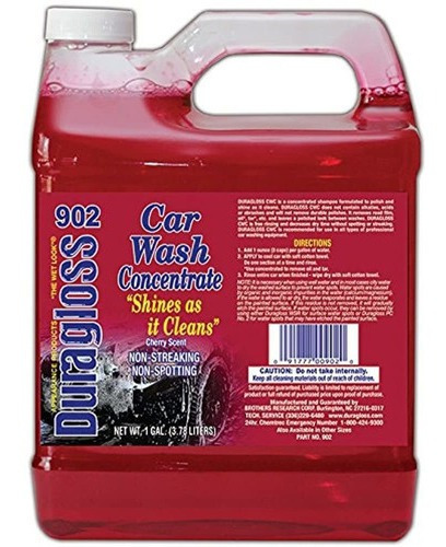 Imagen 1 de 1 de Duragloss 902 Car Wash Concentrate 1 Galon