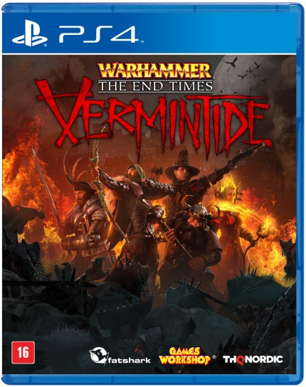 Warhammer End Times Vermintide (mídia Física) - Ps4