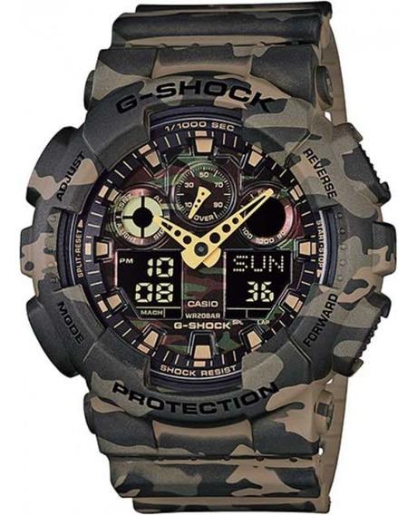 Relógio Casio Masculino G-shock Ga-100cm-5adr Nota Fiscal