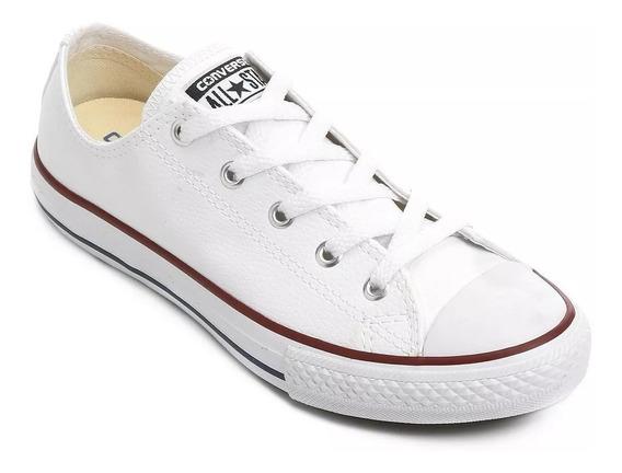 Tenis Allstar Converse Branco Napa Chuck Taylor 10636 + Nf