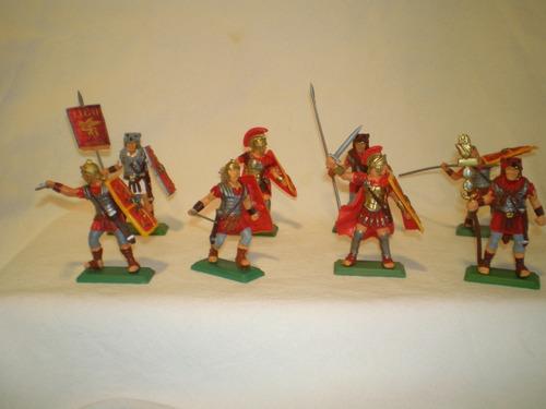 Imagen 1 de 3 de Soldados Romanos Set X 8