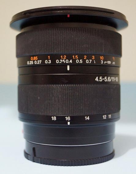 Sony Dt 4.5-5.6 / 11-18 Grande Angular. Excelente. A-mount