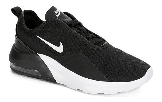 Tenis Nike M. 741048 Air Max Motion 2 Negro Para Mujer / H