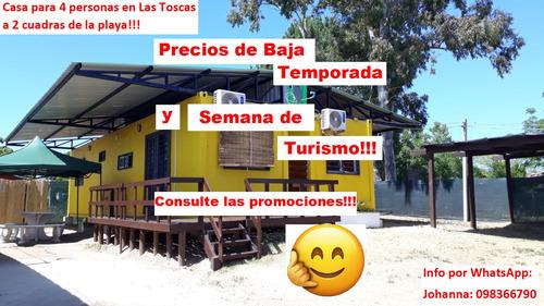 Alquilo 2 Casas Containers En Las Toscas Para 4 P