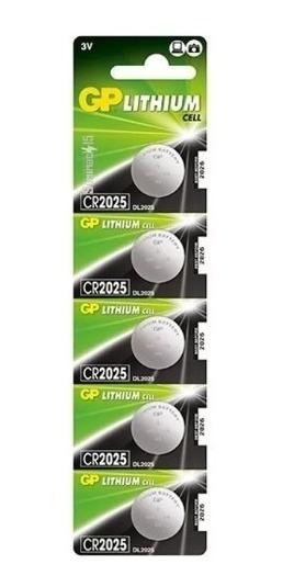 Pilas Cr2025 (3v) Blister De 5 Gp Lithium Somos Tienda