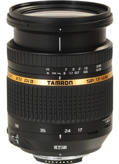 Lente Zoom Tamron 17-50mm F/2.8 Vc Estabilizada Para Nikon §