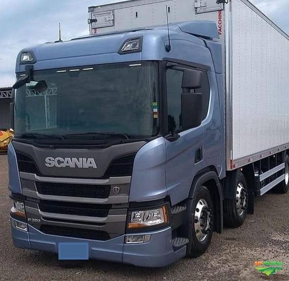 Scania P320 - P310 Com Baú Refrigerado Zero Km 2020