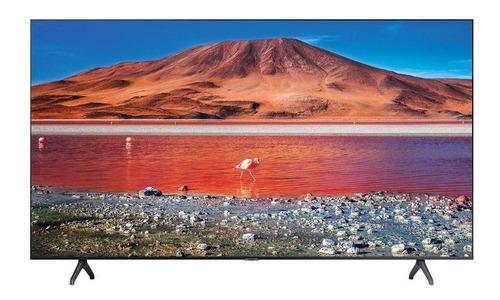 Smart Tv 50 Uhd 4k Samsung Crystal 50tu8000 Preta Bivolt
