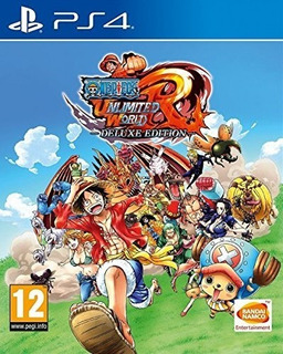 One Piece Unlimited World Red Deluxe Edition Ps4 Nuevo Sella