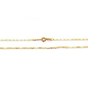Gargantilha Piastrine Em Ouro 18k - Co386