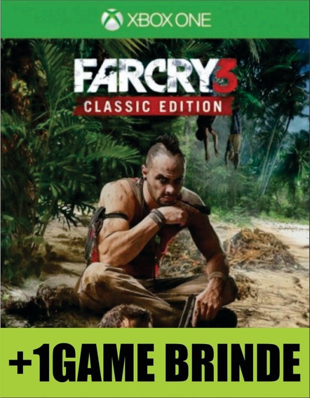 Far Cry 3 Classic Edition Xbox One Mídia