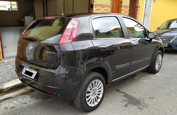 Punto Atractive 1.4 2012 Vendo Ou Troco Por Moto