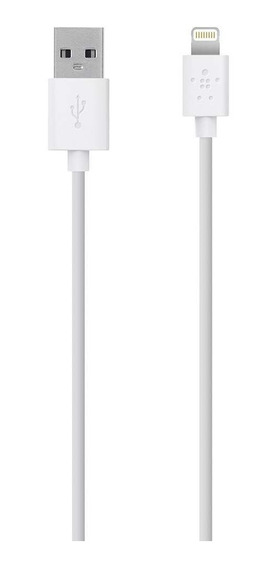 Cable Belkin Mixit Lightning A Usb Chargesync 1.2m Blanco