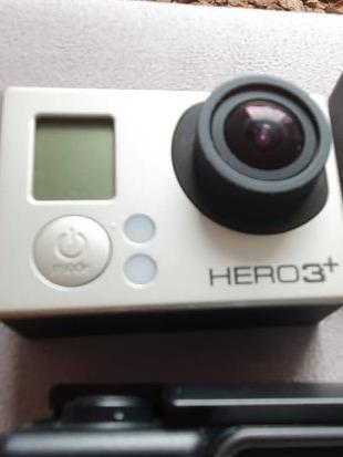 Go Pro Hero 3 Black Nova Pouco Uso Intacta