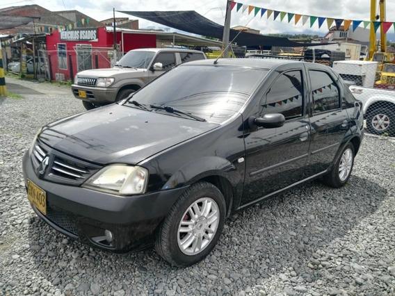 Renault Logan Dinamique Mecanico Negro 2008