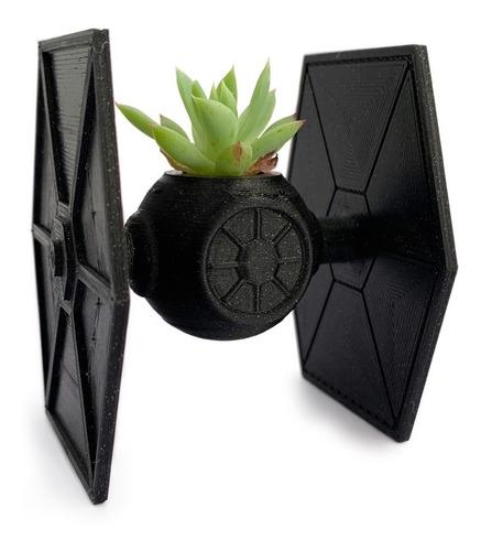 Tie Fighter Maceta De La Guerra De Las Galaxias Star Wars