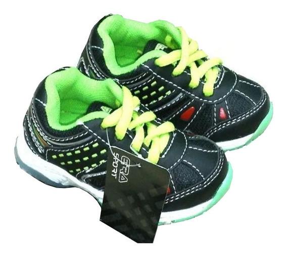 Zapatos Deportivos Con Luces Talla 19 Mide 12,5 Cm S10