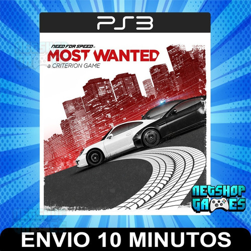 Need For Speed Most Wanted - Ps3 Digital - Español