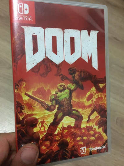 Doom - Mídia Física Jogo Nintendo Switch