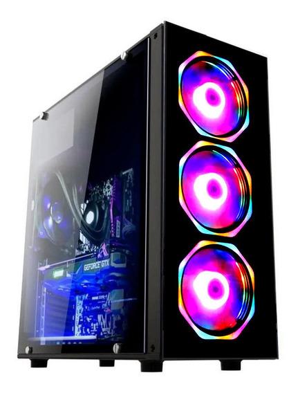 Pc Gamer Fácil Intel I3 9100f 8gb Geforce 2gb Ssd 120 Gb