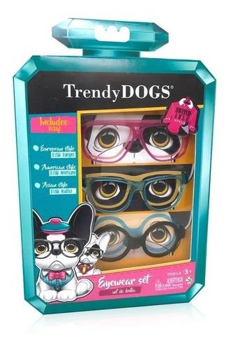 Trendy Dogs Set De 3 Anteojos Coloridos - Tyey1