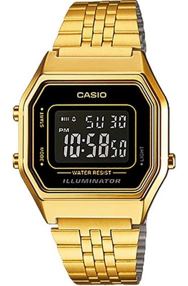 Relógio Casio Vintage Feminino La680wga-1bdf