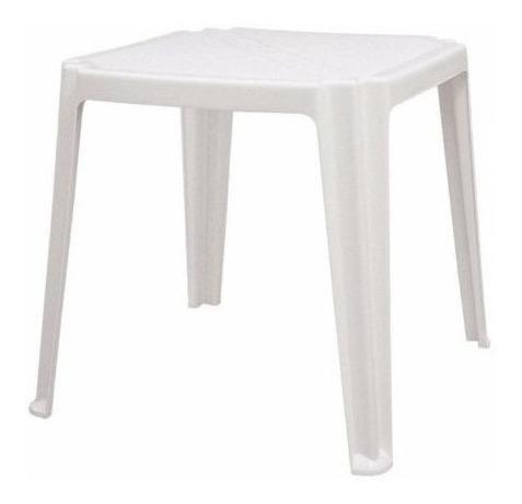 Mesa Plástica Branca Empilhar Tramontina   26220