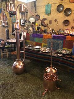 Destilador De Cobre Para Moonshine De 15 Lts.