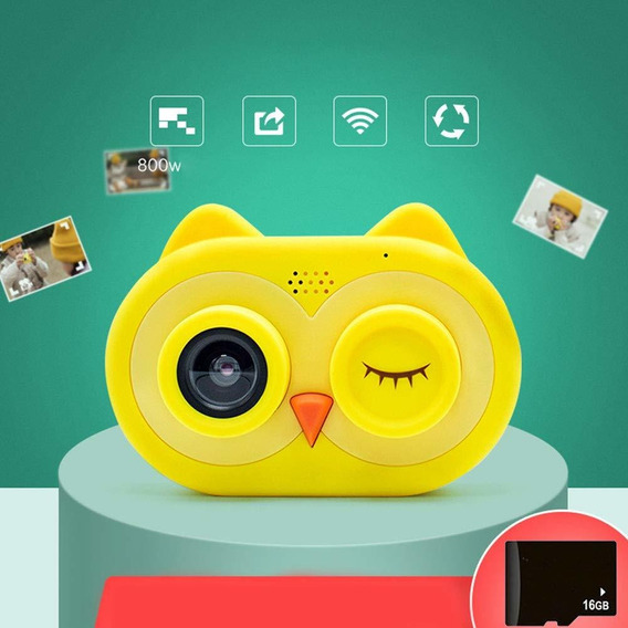 Wifi Cámara 1080p Hd Niños Videocámaras Lcd De 2,0 / Dv-27