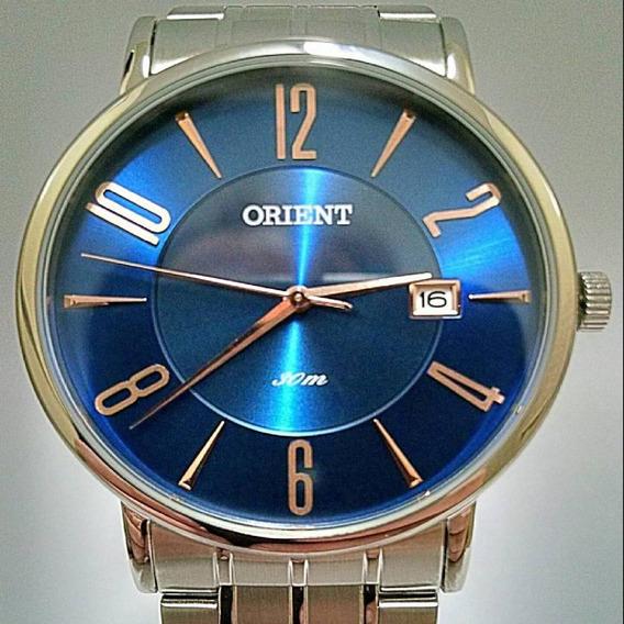 Relogio Orient Masculino Azul Mbss1257
