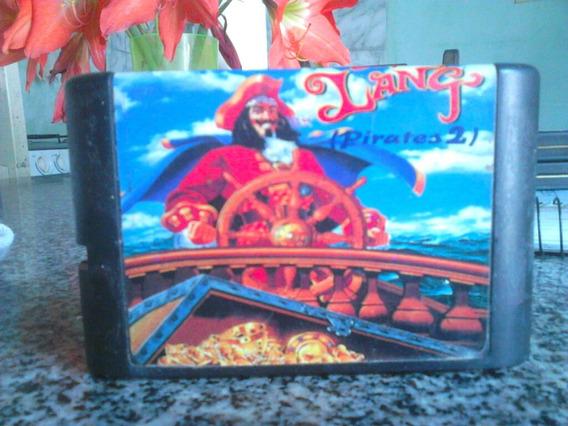 Cartucho Captain Lang Megadrive Original Carta Registrada
