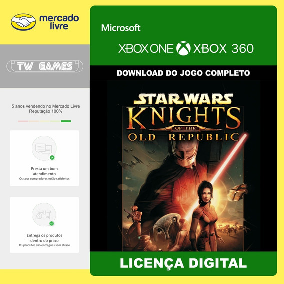 Knights Of The Old Republic Kotor Retro Xbox One Xbox 360