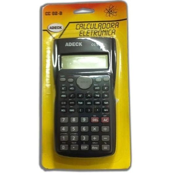 Calculadoras Eletronica Cientifica 240 Funçoes Cc02b Adeck