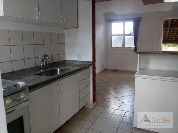 Apartamento Com 2 Dormitórios Para Alugar, 46 M² Por R$ 950,00/mês - Residencial Villa Flora - Sumaré/sp - Ap0373
