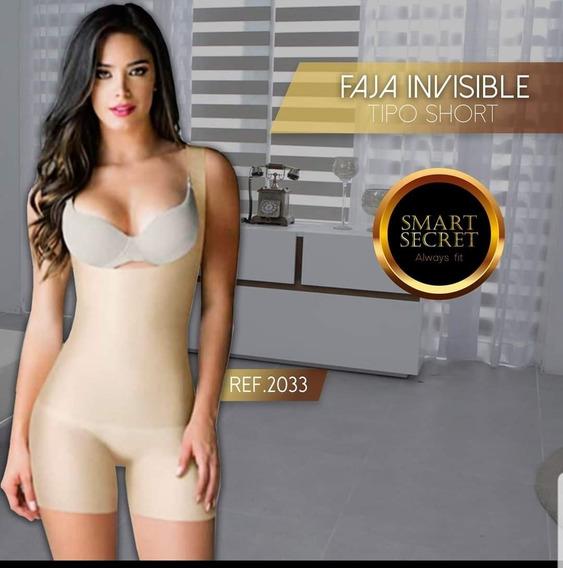 Faja Invisible Espalda Alta  senos Libres  99% Sin Costuras