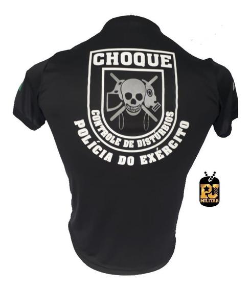Camiseta Policia Do Exército Choque Dry Fit Com Nota Fiscal